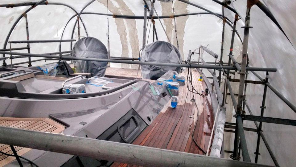 Qmnautic - restaurar teka de cubierta